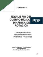 Equilibrio Del Cuerpo Rigido y Dinamica de Rotacion