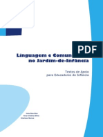 Linguagem e Comunicação No Jardim de Infância