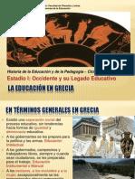 4. La Educacion en Grecia. Anónimo. 2014