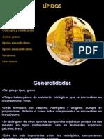 Generalidades de Lípidos