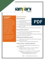 Damiani Projetos - Folder