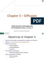 Chapter 5 - Diffusion