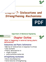 Chapter 7 -Dislocations and Strengethening Mechanisms