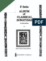 Album of Classical Sonatinas