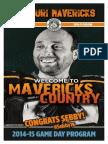 2014/2015 Mavericks Issue #3