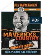 2014/2015 Mavericks Issue #3