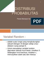 Materi Ke 6 Distribusi Probabilitas Sept 2010