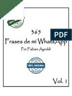 Frases de Mí WhatsApp Vol. 1