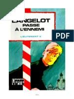 Lieutenant X Langelot 29 Langelot passe à l'ennemi 1978.doc