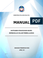 MANUAL INSTRUMEN PENGESANAN 8 APRIL 2011.doc