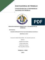 Análisis Plan Nacional y Regional 2021