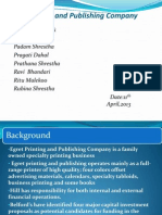 Egret Printing and Publishing ppt