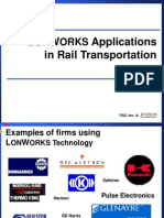 LonWorks Applications in Rail Transportation 2