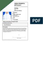 Kartu Pendaftaran SNMPTN 2013 4140315809