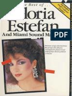 Gloria Estefan & Miami Sound Machine - Best of (48pp) Pvg
