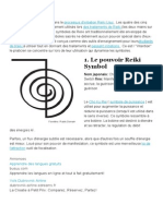 Cinq Symboles Usui Reiki Traditionnel