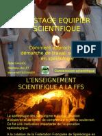 Stage Equipier Scientifique
