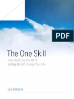 The One Skill - Leo Babauta
