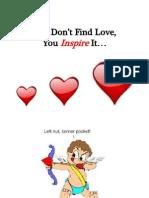Inspired Love Presentation - Adam Gilad