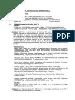 Trabajo Final Contabilidad de Costos Sectoriales 2014 - II