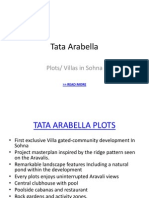 Tata Housing Arabella Plots Price List and Payment Plan