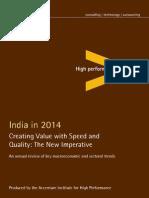 India in 2014