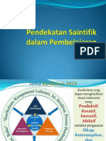 011- Pendekatan Pembelajaran Saintifik