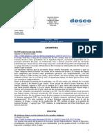 Noticias - News 14-Ene-10 RWI-DESCO