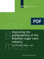 Improving Sustainability Brazilian Sugar Cane Industry