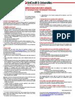 Manifesto UniCredit Internship Program New