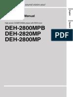 Deh-2800mp Manual en de Espdf