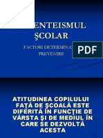absenteismul scolar in societatea contemporana