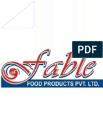 Grand Project Fable Food Products