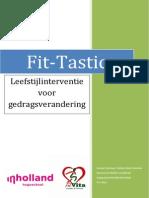 fit-tastic leefstijlinterventie verbeterde versie met verbeterd hoofdstuk 378