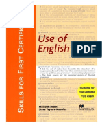 Skills for FCE-Use of English
