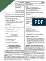 Ley de Publicidad Estatal NL20060815