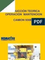 Presentacion Del Camion 930 E
