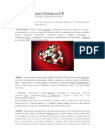 11 Medicações Mais Utilizadas Na UTI