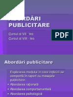 C7 8 Abordari Publicitare