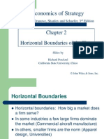 Horizontal Boundaries of a Firm