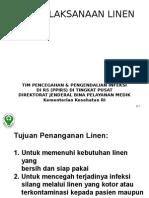 Penatalaksanaan Linen Rs