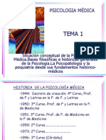 Tema 1 de Psicologia Medica