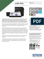 Epson WorkForce WF 7015 Brochures 2