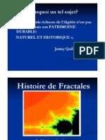 théorie fractale et architecture , Moundjia Abdeltif , Architecture