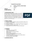 Curso Bioetica Filosofía y Biotecnología