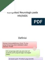 Komplikasi Neuro HIV