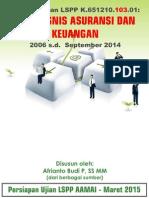 Tutorial AAMAI LSPP 103 - Praktik Bisnis Dan Keuangan Asuransi - Maret 2015