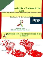 7 - Transmissao Hiv Sp Maio2010