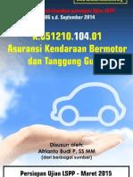 Tutorial AAMAI LSPP 104 - Kendaraan Bermotor Dan Tanggunggugat -Maret 2015 - SAMPLE