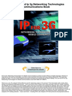 IP 3G Networking Technologies Communications Book